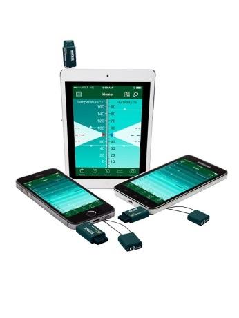 EzSmart™ Hygro Termometer för iPhoneiPAD® och Android™